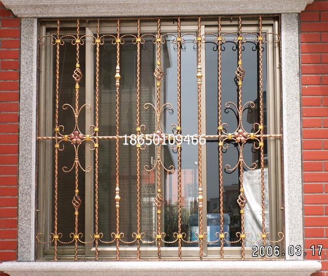 新款防盗窗; 欧式铁艺防盗窗2014防盗网个性防护网